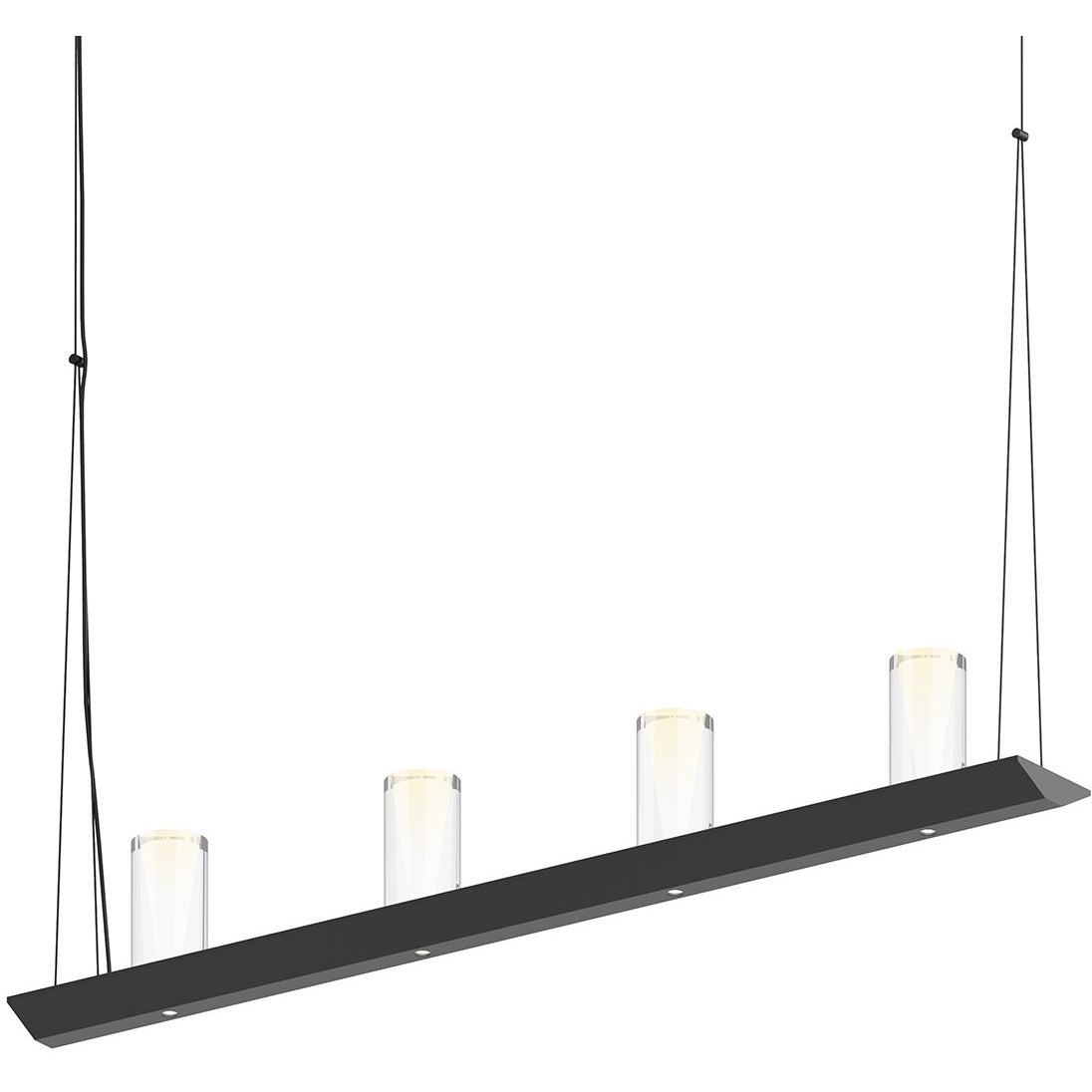 Sonneman - A Way of Light - 2857.25-SC - LED Pendant - Votives - Satin Black