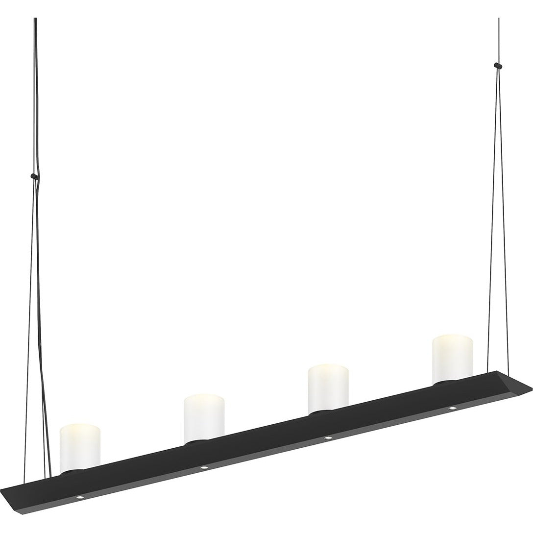 Sonneman - A Way of Light - 2857.25-SW - LED Pendant - Votives - Satin Black
