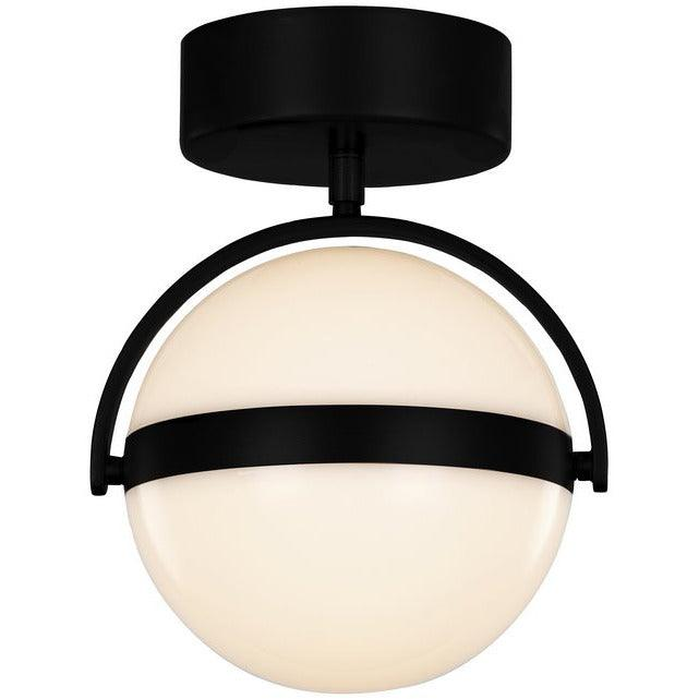 Alora Lighting - FM301001MB - Semi Flush Mounts - Globo - Matte Black