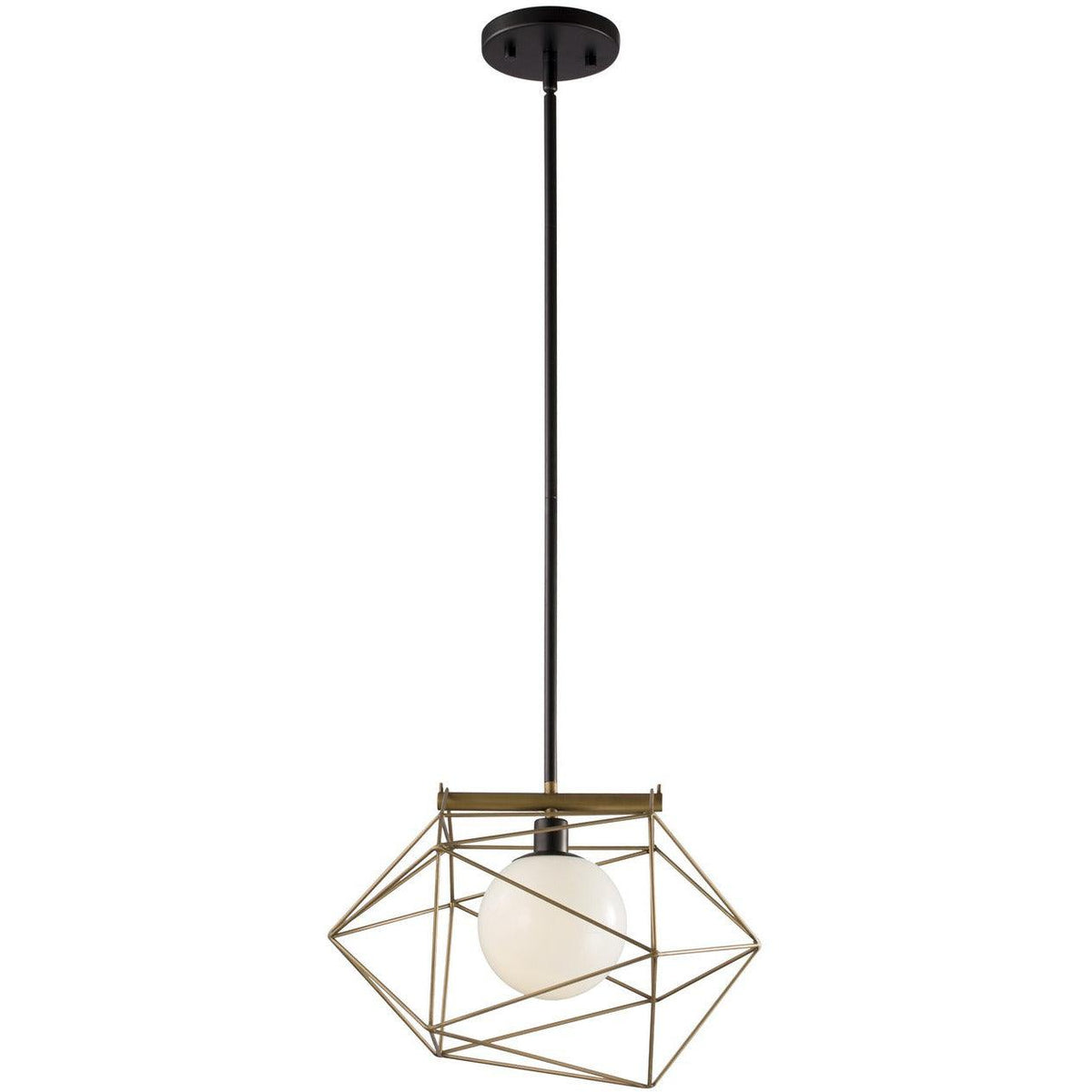 Alora Lighting - PD303201CBRG - Pendants - Necto - Classic Black /Relic Gold