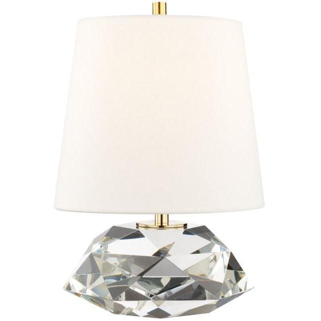Hudson Valley - L1035-AGB - One Light Table Lamp - Henley