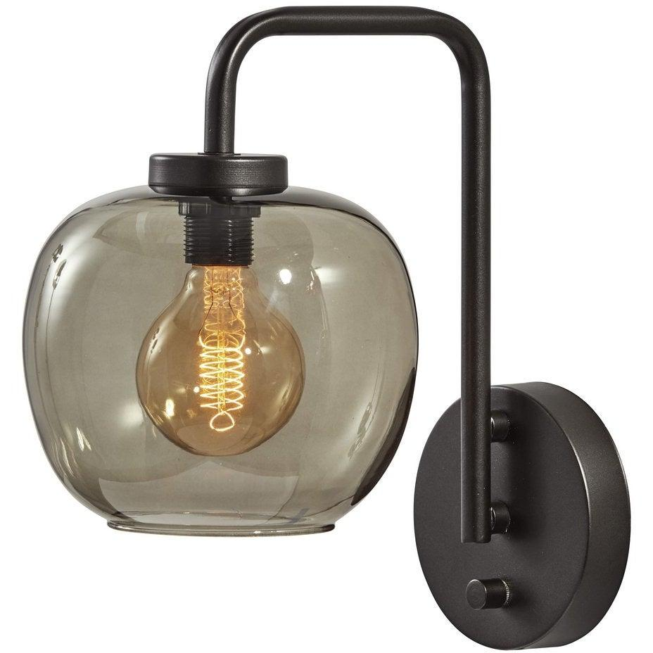 Adesso Home - 3434-01 - One Light Table Lamp - Ashton - Matte Black