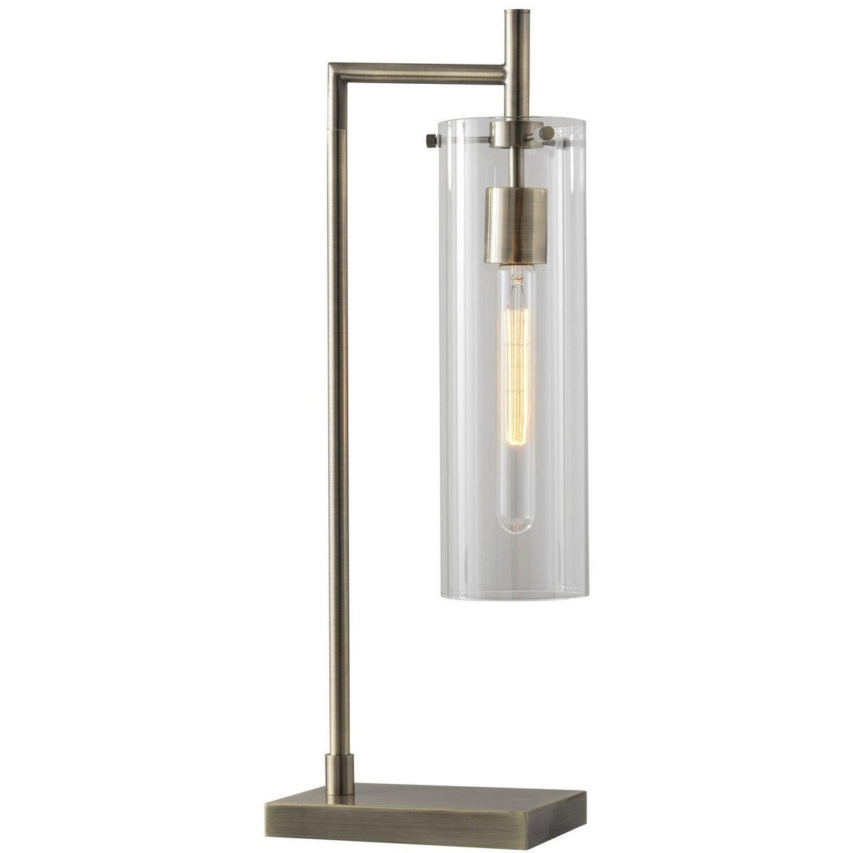 Adesso Home - 3852-21 - One Light Table Lamp - Dalton - Antique Brass