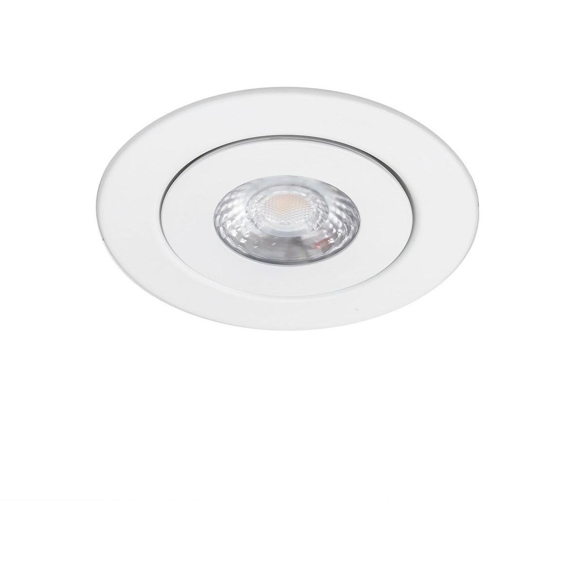 WAC Lighting - R4ERAR-W930-WT - 4-Inch LED Adjustable Recessed Kit - Lotos - White