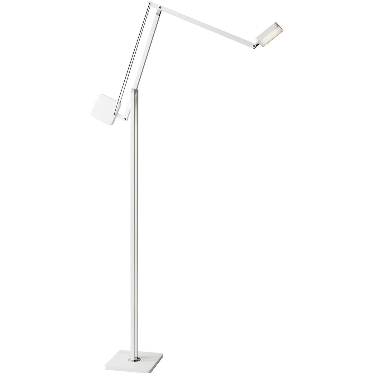 Adesso Home - AD9131-02 - LED Floor Lamp - Cooper - Matte White