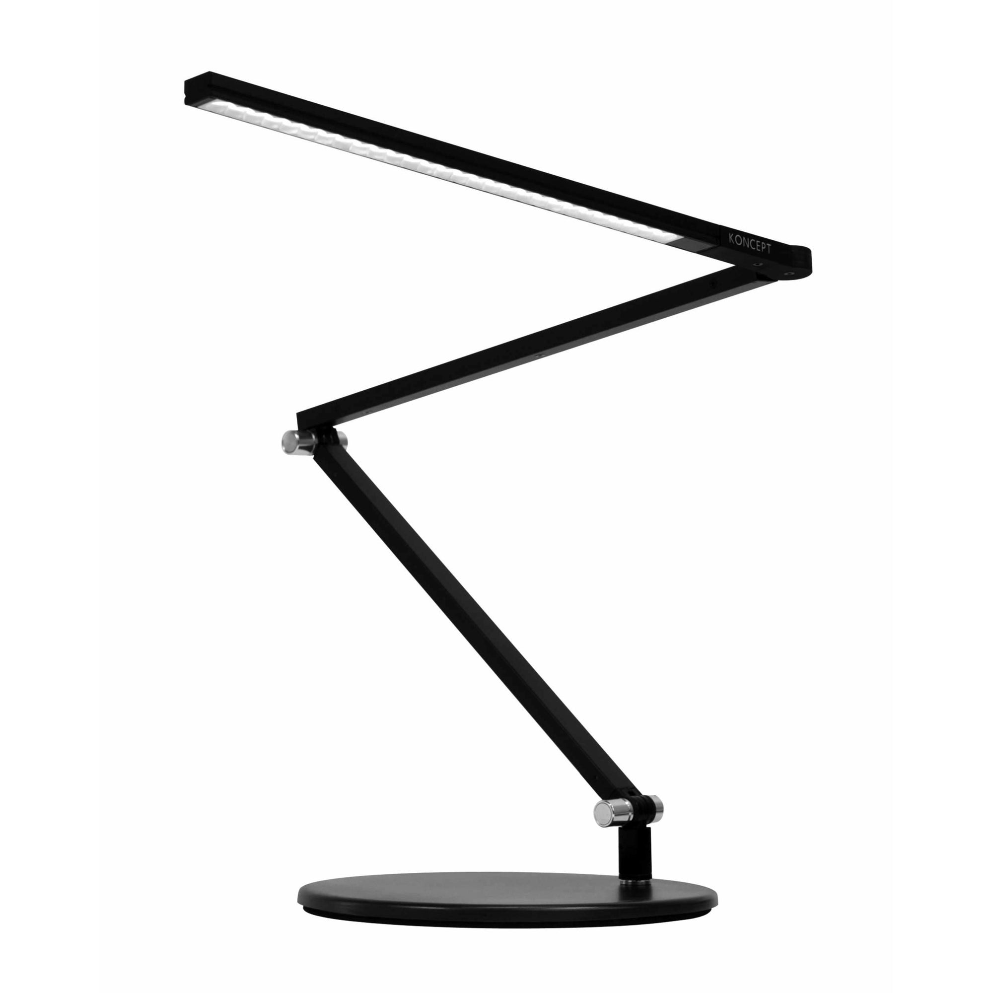 Koncept - AR3100-WD-MBK-DSK - LED Desk Lamp - Z-Bar - Metallic Black