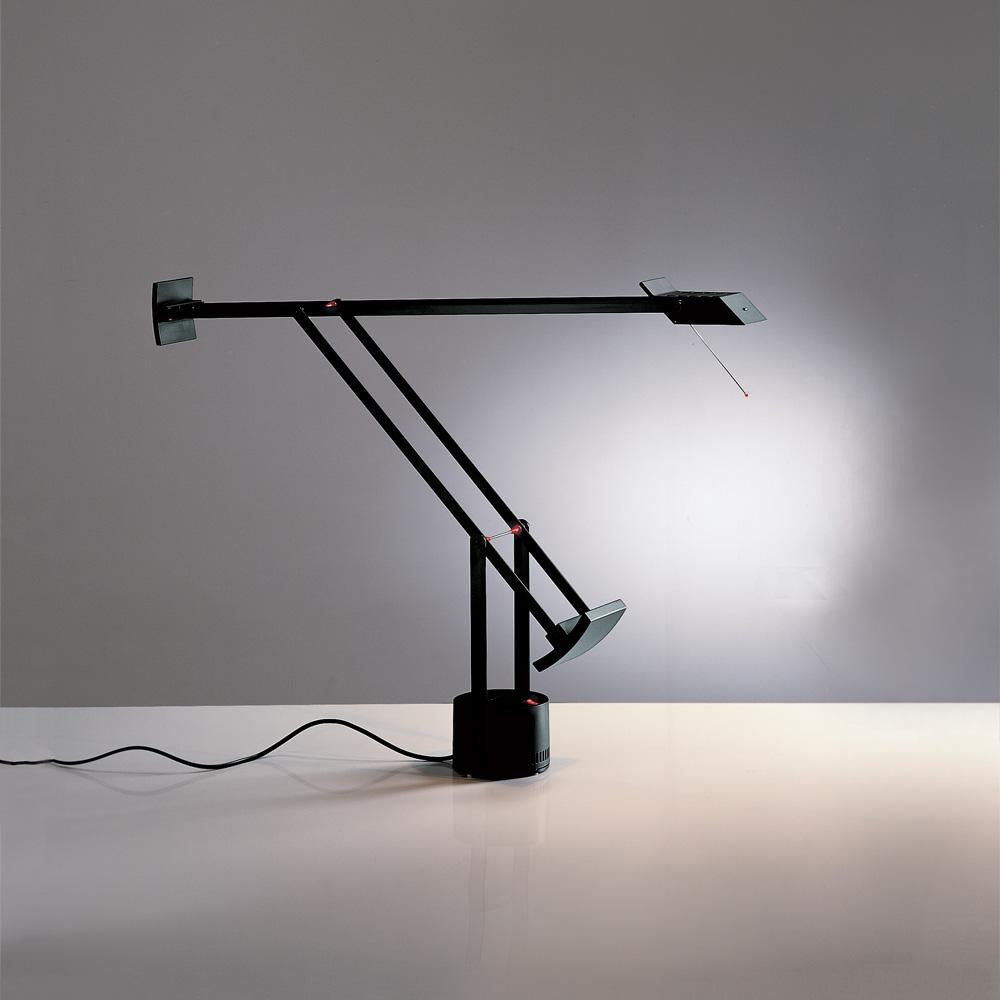Artemide-Tizio-A005015-Tizio Table Lamp-Black