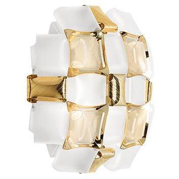 SLAMP - MID78APP0000GD000 - Ceiling/Wall Light - Mida - White/Gold