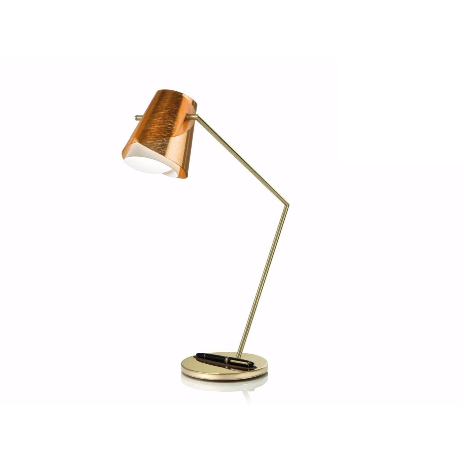 SLAMP - OVE94TAV0000RA000 - Table Lamp - Overlay - Copper/Brassed