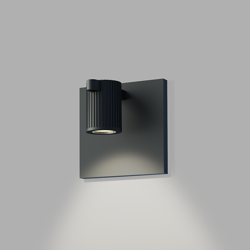 Sonneman - A Way of Light - SLS0214 - One Light Wall Sconce - Suspenders - Satin Black