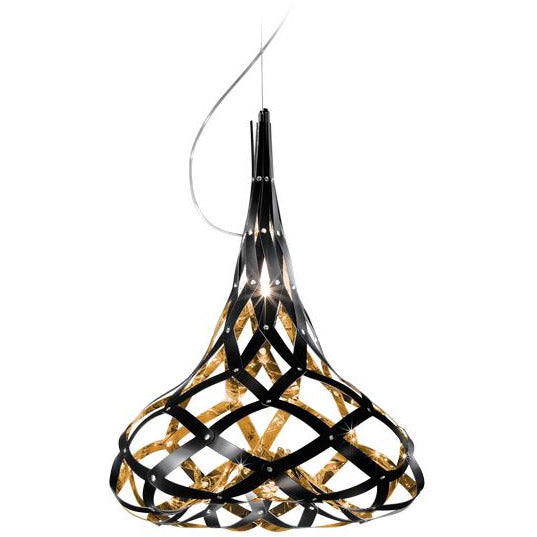 SLAMP - SMO76SOS0000BG000 - Suspension - SuperMorgana - Black/Gold