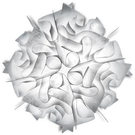 SLAMP - VEL78PLF0001BW000 - Couture Ceiling/Wall Light - Veli - White Decor