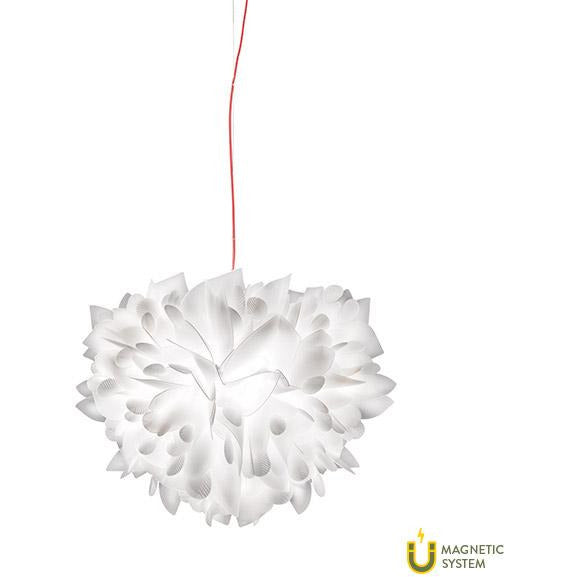 SLAMP - VEL78SOS0001FG000 - Foliage Suspension - Veli - White Decor