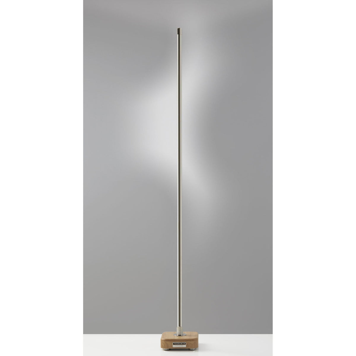 Adesso Home - AD9200-01 - LED Floor Lamp - Theremin - Black Nickel
