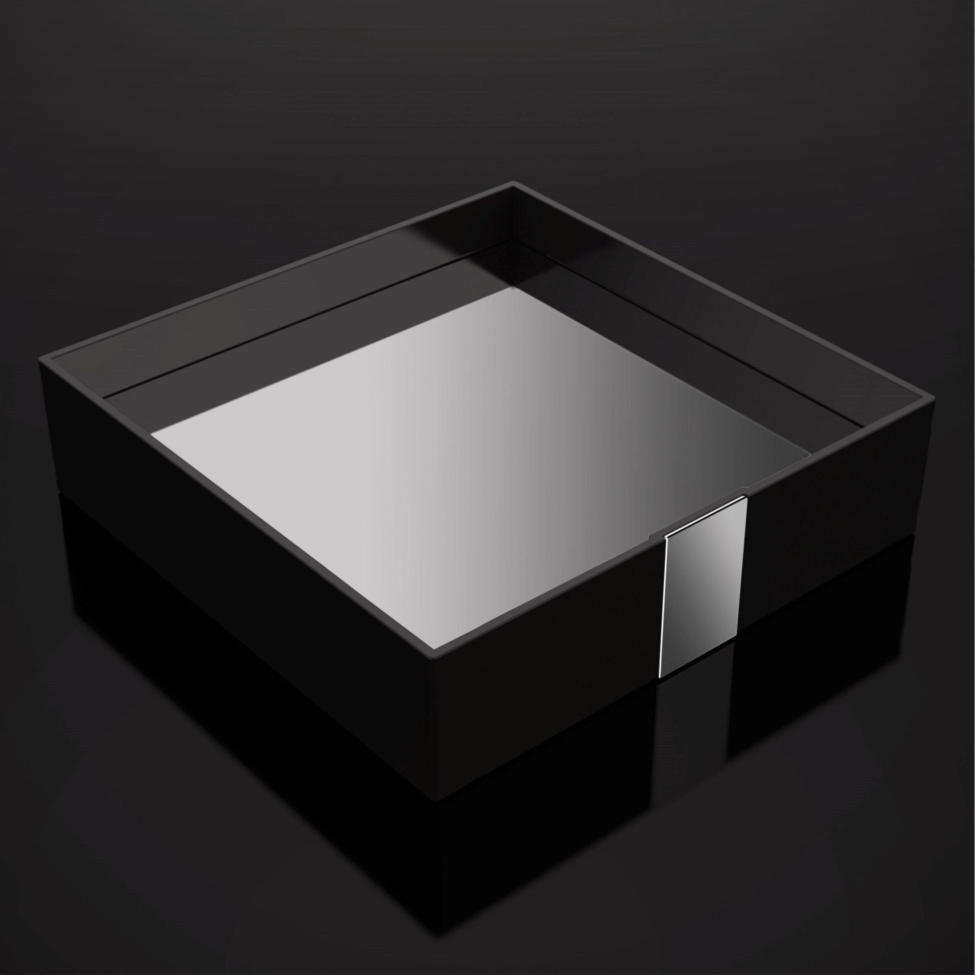 Zen Design - BA0297.202 - One Square Tray - One - Black