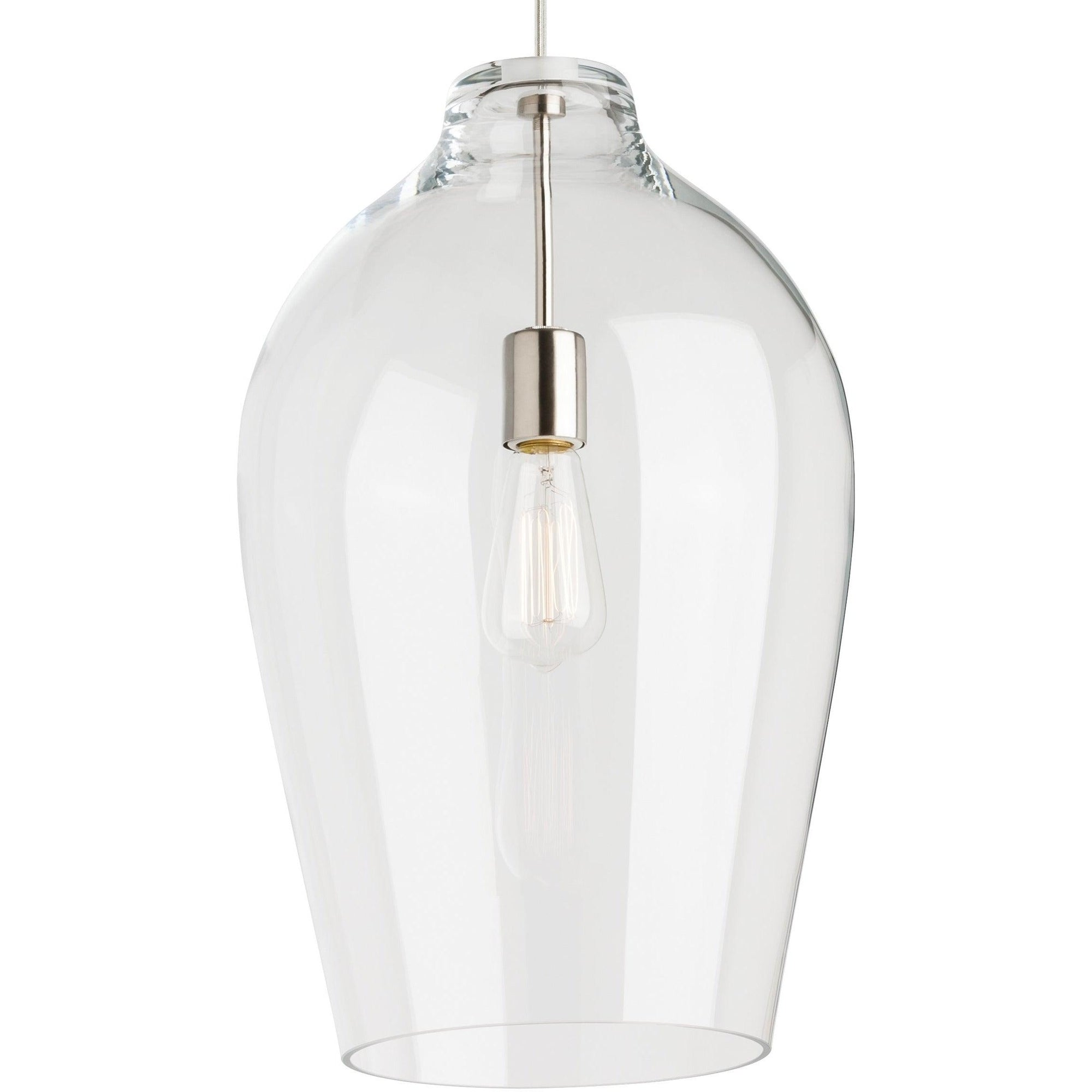 Tech Lighting - 700TDPRCPCS-LED927 - Pendant - Prescott - Satin Nickel