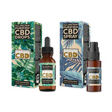 Equilibrium CBD Purified Range 1000mg CBD Oil 10ml - Spray / Dropper Bottle - cbddirect2u.store