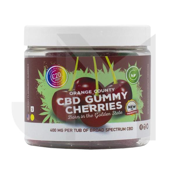 Orange County CBD 400mg Gummies - Small Pack