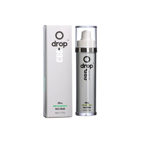 Drop CBD Face Cream 250mg CBD 50ml - cbddirect2u.store