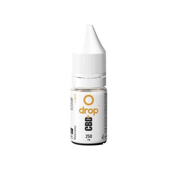 Drop CBD Flavoured E-Liquid 250mg 10ml - cbddirect2u.store