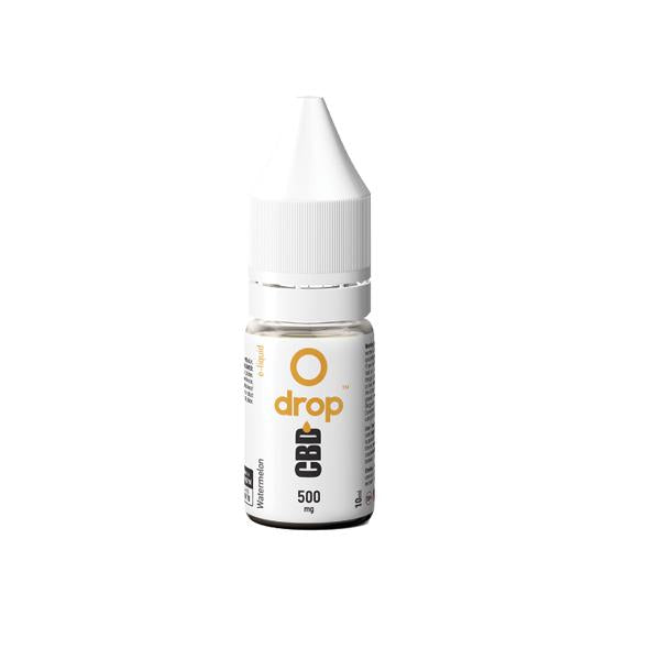 Drop CBD Flavoured E-Liquid 500mg 10ml - cbddirect2u.store
