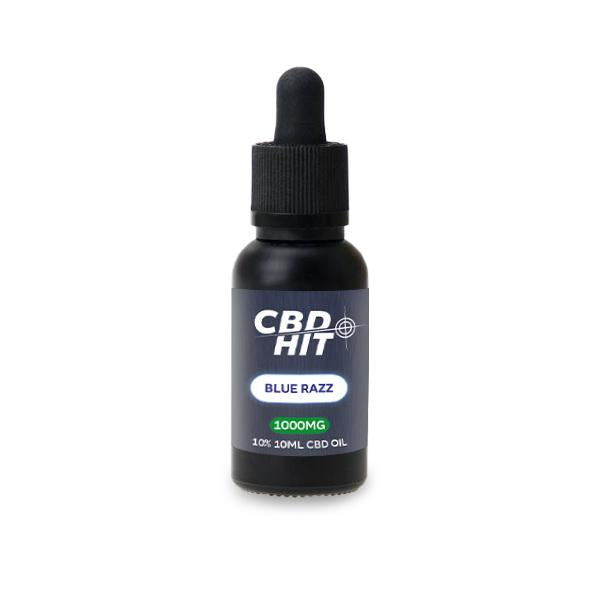 CBD Hit 1000mg CBD Flavoured Oil 30ml