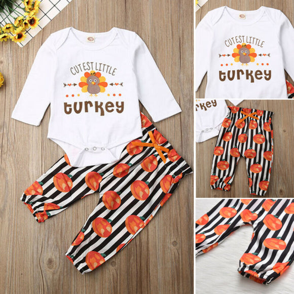Baby Cutest Turkey Outfit