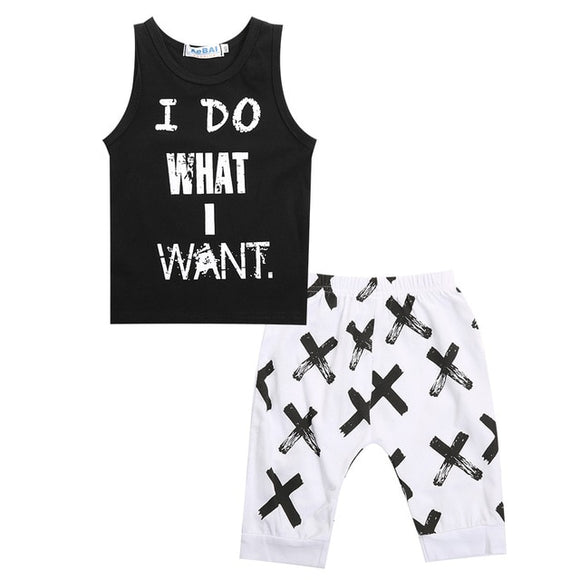 Baby Boy Comfy Tank and Shorts