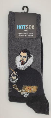 HOTSOX Men Famous Artist Series Socks Shoe Size 6-12.5