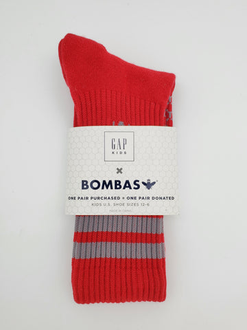 GAP Kids Bombas Red Socks