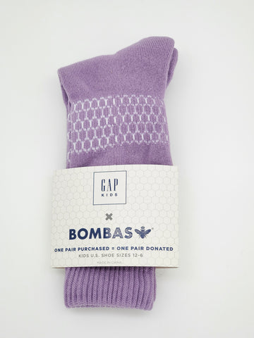 Bombas purple color Socks