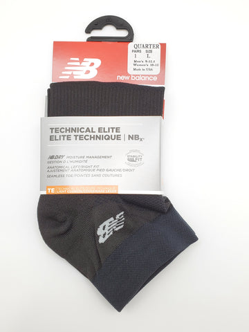 New Balance Black Ankle Athletic Socks