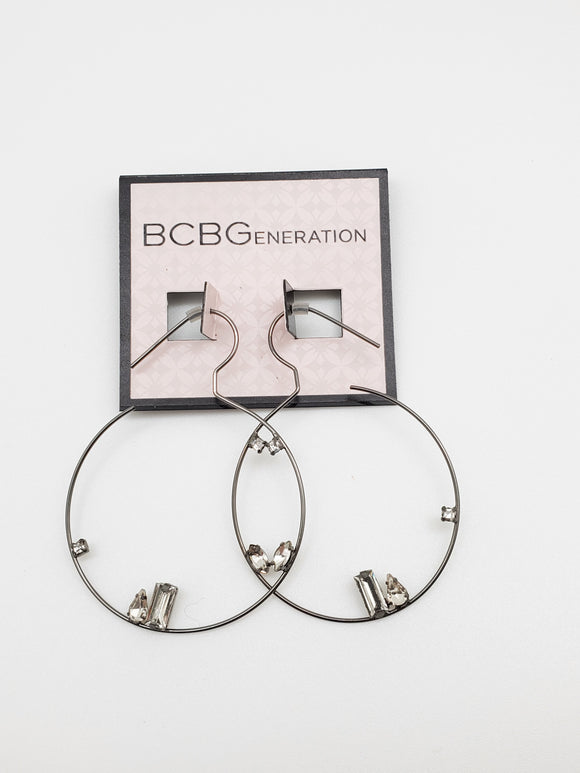 BCBGeneration Bent Metal Single Piece Earring