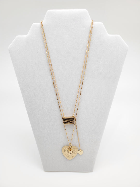 BCBGeneration Hearts & Bag Colabo Necklace