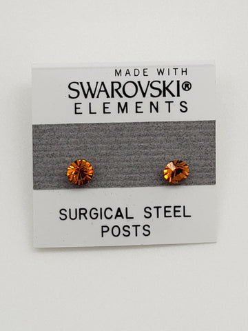 SWAROVSKI Elements Stud Earrings with Real Swarovski Crystals