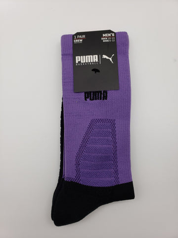 Puma Basketball King Size 1 Pair Crew Socks