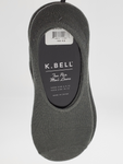 K.BELL 2 Pairs Same Color No Show Socks