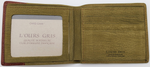 L'OURS GRIS Green And Brown Color Wallet