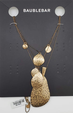 Baublebar Antique Gold Necklace Fashion Drop