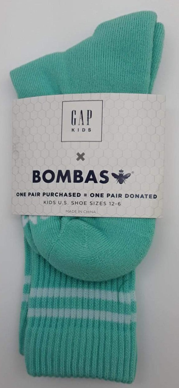 Bombas Sea Green Color Socks