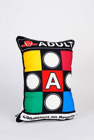 TTC Adult Transit Ticket Throw Pillow Shell