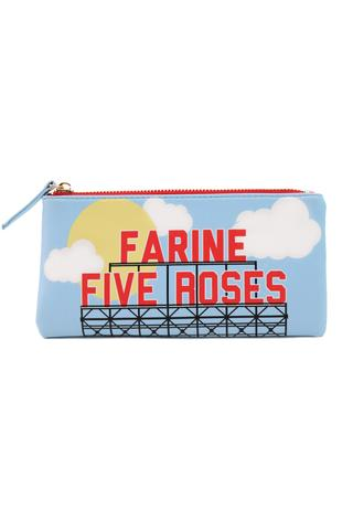 Farine Five Roses Pencil Case / Cosmetic Bag