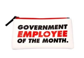 Government Employee of the month pouch