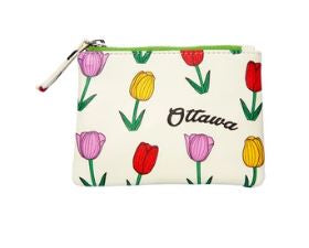 Ottawa Tulip Coin Purse