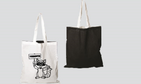 Ultra Light Toronto Raccoon Tote