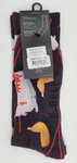 K.BELL Men's Fortune Cookie Chinese Food Take Out Socks