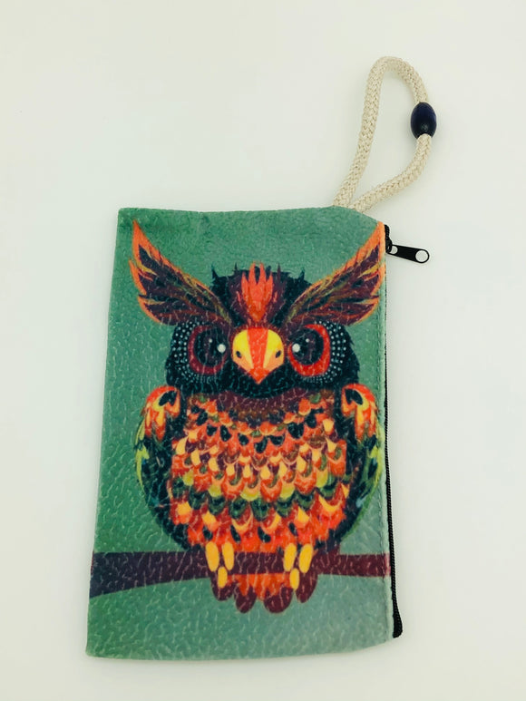 Owl Art Bag
