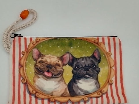 Dogs Picture Frame Art Bag