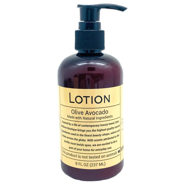 Olive Avocado Lotion