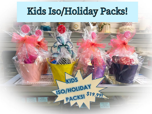 Kid's ISO/Holiday Packs